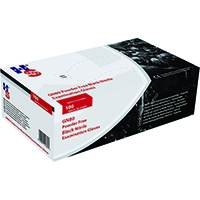 Speciality Black Large Nitrile Gloves