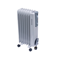 1.5kw Oil-Filled Radiator White CRHOFSL7/H 42690