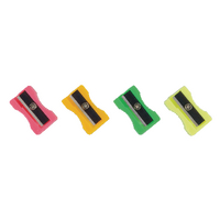 Plastic Sharpeners (Pack of 100) Assorted 794300