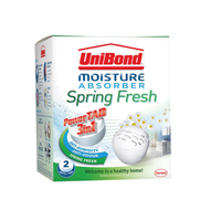 Unibond Moisture Absorber Refill Tab Small Spring Fresh (Pack of 2) 2008967
