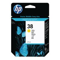 HP 38 Yellow Pigment Cartridge C9417A