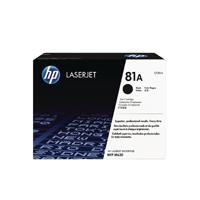 HP 81A Black Original LaserJet Cartridge CF281A