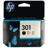 HP 301 Black Ink Cartridge CH561EE