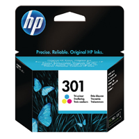 HP 301 Tri-Colour Cy/Mag/Ylw Ink CH562EE