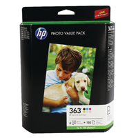 HP 363 Photo Cartridge/Paper Pck Q7966EE