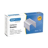 Rapesco Staples 6mm 24/6 Pack of 5000 S24602Z3