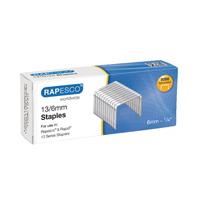 Rapesco 6mm 13/6mm Staples (Pack of 5000) S24602Z6