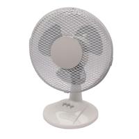 Q-Connect 2-Speed Desktop Fan 230mm/9 Inch