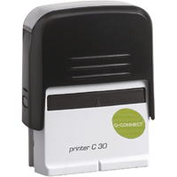 Q-Connect Voucher For Self-Inking Stamp 72 x 33mm KF02114