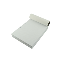Q-Connect A4 Narrow Feint Ruled Refill Pad 2 Hole Punched Headbound 80 Leaf (Pack of 10) KF02229