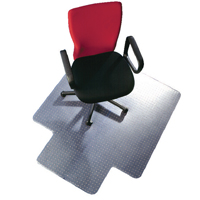 Ff Qconnect Chairmat Pvc 1143X1346Mm Clr