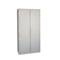 Ff Jemini 72In 2Dr Cupboard 3 Shlvs Grey