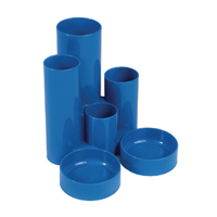 Q-Connect Blue Tube Desk Tidy