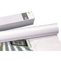 Q-Connect Plotter Paper 610mm x50m 80gsm Pk 4 Rolls
