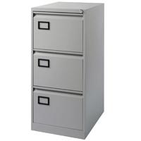 Ff Jemini Filing Cabinet 3Drw Pl/Grey