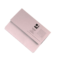 Q-Connect Foolscap Buff Document Wallet Pack of 50 KF23010