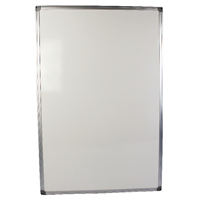Q-Connect Aluminium Frame Whiteboard 900x600mm Pack of 1 54034621 KF37015
