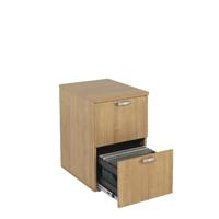 FF Avior Ash 2 Drw Filing Cabinet
