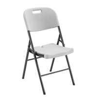 Jemini White Folding Chair KF72332