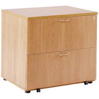 FF Arista Beech Desk High Side Filer