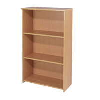 Serrion Bavarian Beech 1200mm Medium Bookcase