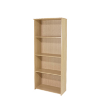 Serrion Ferrera Oak 1750mm Large Bookcase KF73515