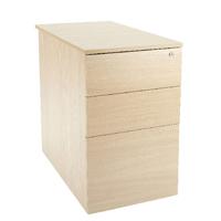 FF Jemini Intro Desk High Ped D600 Maple