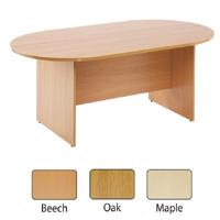 FF Arista Oak 2400mm Boardroom Table