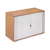 FF Arista Desk High Side Tambour Maple