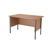 FF Jemini Beech 1200mm 4 Legged Desk