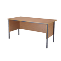 FF Jemini Beech 1500mm 4 Legged Desk
