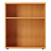 FF Jemini 1000mm Bookcase 1Shelf Beech
