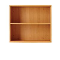 FF Jemini 1000mm Bookcase 1Shelf Oak