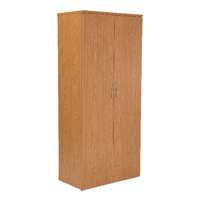 FF Jemini 2000mm Cupboard 4Shelf Oak