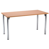 FF Jemini Rect Meeting Room Table Foldin