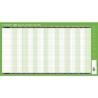 Q-Connect Holiday Planner Unmounted 2018