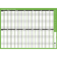 Q-Connect Staff Planner Unmounted 855x610mm 2018 KFSPU18