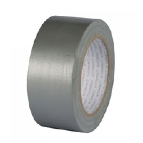 Q-Connect Silver Duct Tape 48mmx25m Roll KF00290