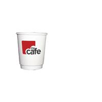 Mycafe 8oz Double Wall Hot Cups HVDWPA08V