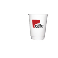 Mycafe 12oz Double Wall Hot Cups HVDWPA12V