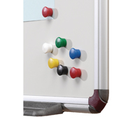 Nobo Magnetic Drawing Pin Asstd Pk12