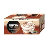 Nescafe Unsweetened Cappuccino Sachet 16g Pk50 17624
