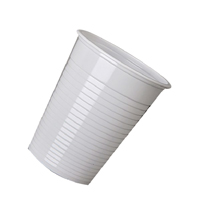 Nupik-Flo White Disposable Drinking Cups 7oz 20cl (Pack of 2000) DVPPWHCU02000