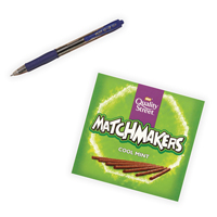 Pilot G207 Retractable Gel Blue Pen Pack of 12 with Free Matchmakers PI811331