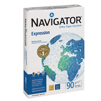Navigator Expression Inkjet Paper Extra Smooth Ream-Wrapped 90gsm A4 White Ref NEX0900024 500 Sheets