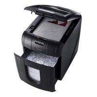 Rexel Auto+ 100M Micro Cut Shredder Black 2104100