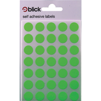 Blick Label Green 13mm Fluor Bag 140