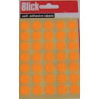 Blick Label Fluor Bag 13mm Orange 140