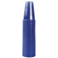 MyCafe Transluscent Blue Plastic 20cl Water Cups (Pack of 1000) DVPPBLCU01000V