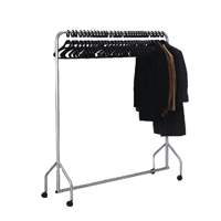Garment Hanging Rail Plus 30 Hangers